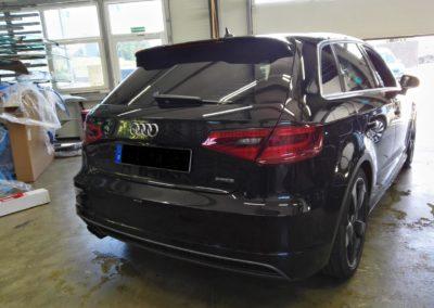 Audi A3 Sportback Black dark Scheibentönung