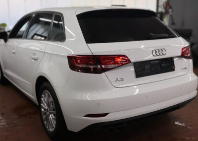 Audi A3 Sportback Black extra Dark Scheibentönung