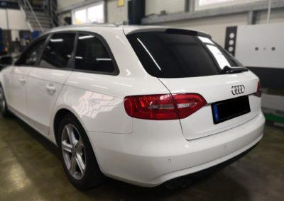 Audi A4 Avant Black extra Dark Scheibentönung