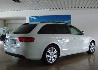 Audi A4 Kombi Black extra Dark Scheibentönung