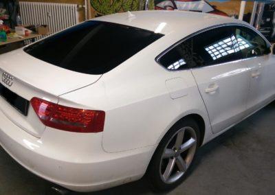 Audi Black extra Dark Scheibentönung 1