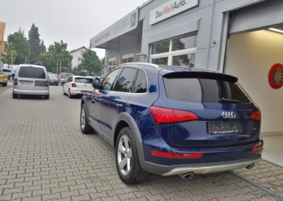 Audi Q5 Black Dark Scheibentönung
