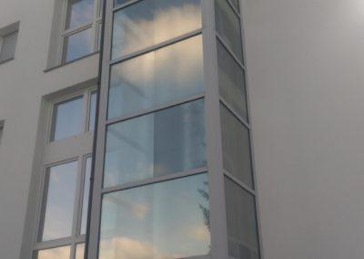 Aufzugschacht Hitzeschutzfolie erneuert 1