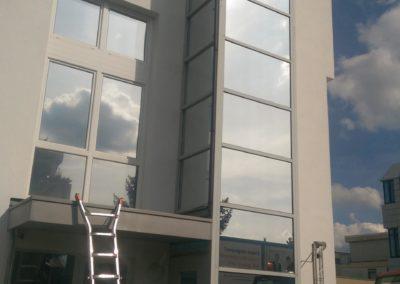 Aufzugschacht Hitzeschutzfolie erneuert 3