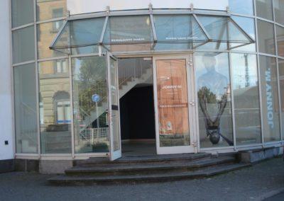 BHf Ludwigsburg, Sicherheitsfolie von aussen 2