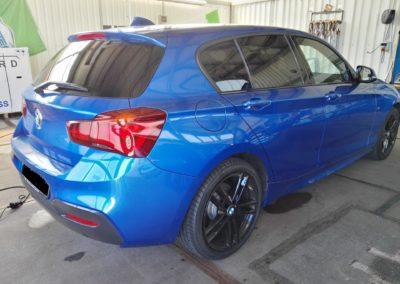 BMW 1er Black Dark Scheibentönung