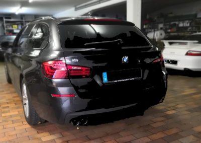 BMW 5er tourungBlack Dark Scheibentönung
