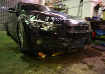 BMW Lackschutz Stoßfänger+Türgriffmulde 2