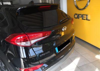 Hyundai Tucson Black extra Dark Scheibentönung 1