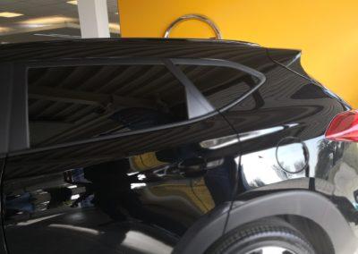 Hyundai Tucson Black extra Dark Scheibentönung 2
