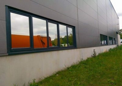 In Asperg, Fa. Verscaj GmbH Hitze- und Sichtschutz 480XHC 4