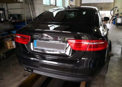 Jaguar XF Limousine Black Dark Scheibentönung