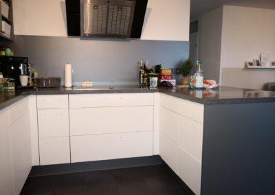 Küche von rot nach weiß AFTER 3