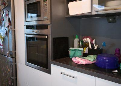 Küche von rot nach weiß AFTER 5