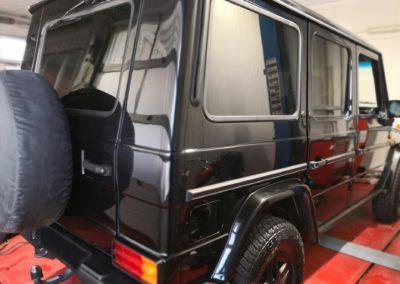 Mercedes G Black extra Dark Scheibentönung 1