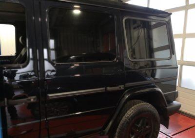 Mercedes G Black extra Dark Scheibentönung 2