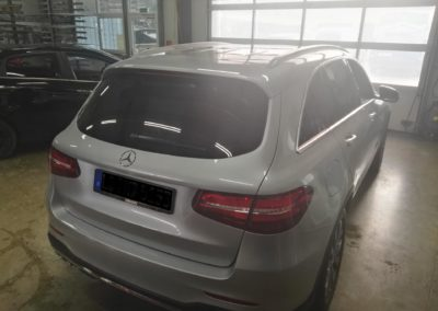Mercedes GLC Black Dark Scheibentönung