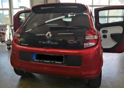 Renault Twingo Black Dark Scheibentönung