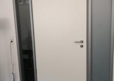 Sichtschutz Büroeingang 1
